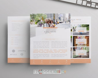 """Three-Page Media Kit Template 