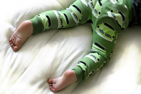 Green Machine Organic Cotton Harem Pants Leggings