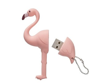 Flamingo USB 2.0 flash drive 8Go - Flamingo USB Drive -