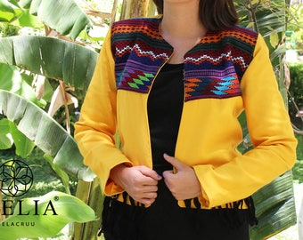 Ethnic Jacket - Embroidered - Mexican