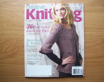 Creative Knitting Magazine - Autumn 2014