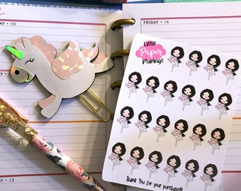 Happy Mail Girl Stickers