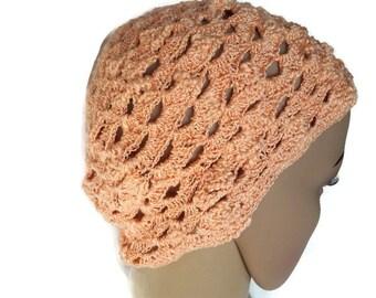 Crochet hat. Yellow hat. Handmade hat. Summer hat. Spring hat. Women's fashion.
