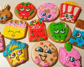 Toy cookies FULL SET (12 cookies)