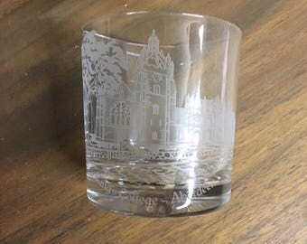King's College Aberdeen Whisky Glass