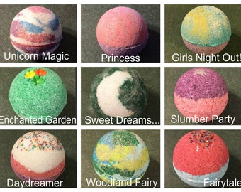 Girl Power Bath Bombs