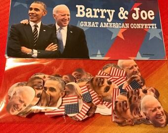 Obama & Biden America confetti