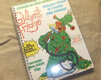 Gilbert's Fridge Theme Sketchbook