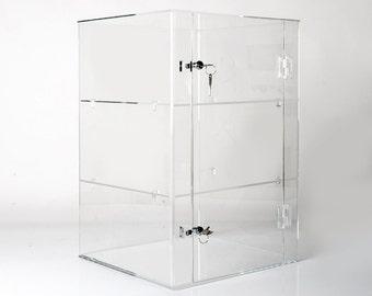 Acrylic Display Cabinets | Acrylic Display | Acrylic Case | Counter Display | Retail Display | Merchandising Display | Clear Acrylic