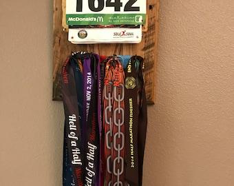 Race Bib & Medal Holder