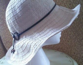 Betmar wide brimmed sun hat // American designer, NYC designer, wired brim wide brim hat