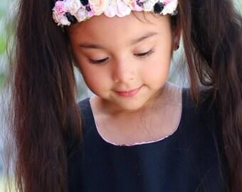 Flower crown ,crown ,pink crown