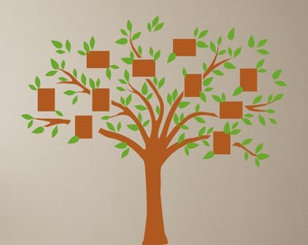 Picture Frame Tree - Vinyl Wall Decal