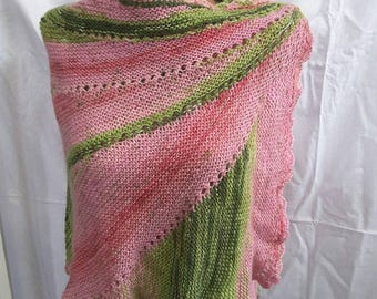 New unique handmade in Ukraine hand knit mohair angora shawl wrap capelet
