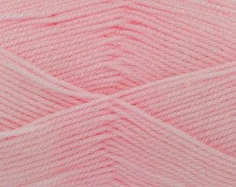 King Cole Pricewise Double Knitting Wool - Baby Pink (4)