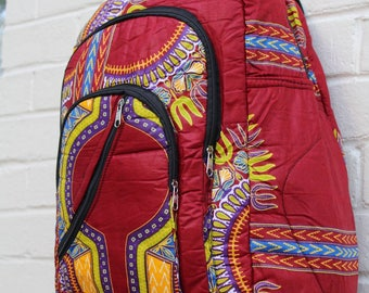 Large Dashiki Backpack-Ankara