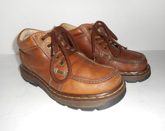 ON SALE Dr Doc Martens  Mens Brown Leather Boots Size 7M US