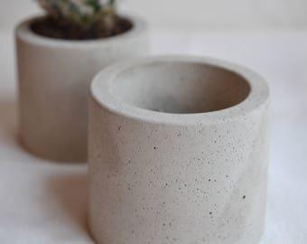 Mini Concrete Plant Pot