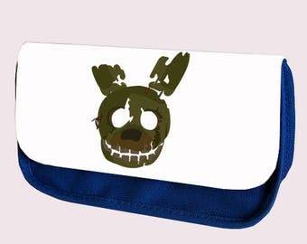 Five Nights at Freddy's SPRINGTRAP pencil case/ Make up or Clutch Bag