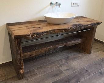 lavabo etsy. Black Bedroom Furniture Sets. Home Design Ideas