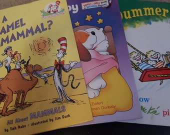 Dr Suess Childrens Book Trio