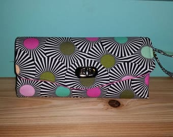 Ladies Wallet with Tula Fabric