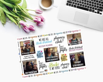 ORGANISE Me Life - Militant Planner Stickers - CAM MILITANT