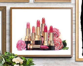 Makeup illustration, makeup drawing, makeup art,fashion illustration,watercolor makeup,watercolor painting,makeup addict, girly illustration