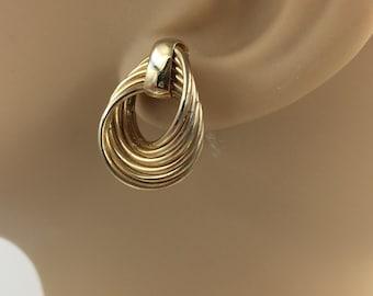 Gold Tone Loop Earrings    BUY 3 Get 1 FREE