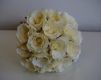 Ivory Rose brides bouquet