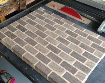 Cutting board, brick cutting board
