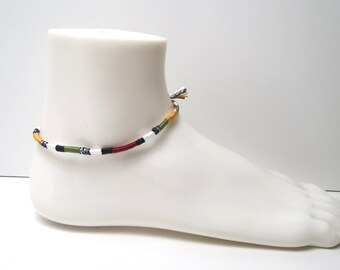Bracelet of ankle coton