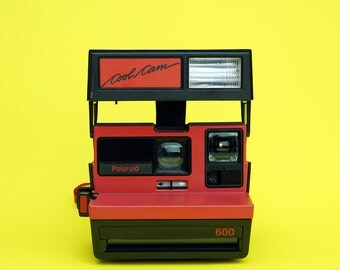 Polaroid Cool Cam Instant Film Camera - LTD Red - *Discount Impossible Project Film Pack Offer With This Camera*