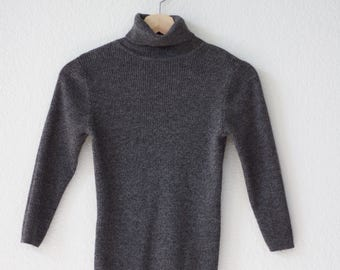 Charcoal Gray Turtle Neck