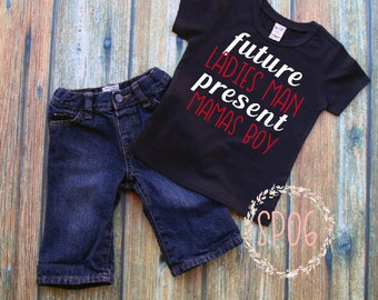 future ladies man,mammas boy,toddler boy shirt,baby boy,moms boy,hipster,cute,toddler shirt,mommy and me,ladies man,valentines day shirt