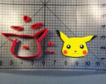 Pokemon Pikachu  3 inch Cutter