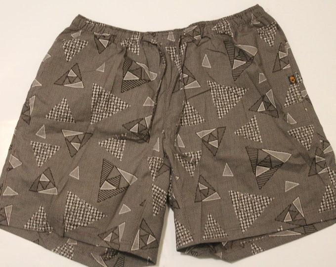 Khushi Shorts - Brown Angles