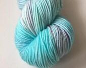 Sock Hand Dyed Australian 80/20 Merino nylon Revelry Sock Fingering 4 ply Knitting Yarn Bourkes Parrot