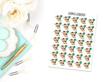 4H Cow Planner Stickers