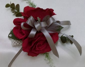 Red Rose Wrist Corsage