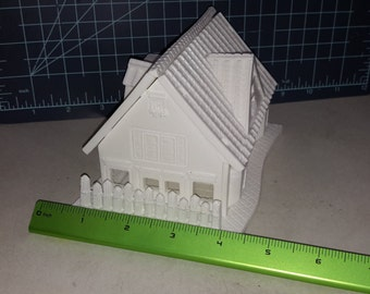 Dollhouse Plastic Mold, Resin Mold, gingerbread house Mold, clay mold, house mold, doll house mold, chocolate mold, gingerbread mold, mould