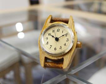 Handmade Oak Desk Clock