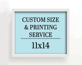 11x14 art print - custom printing services