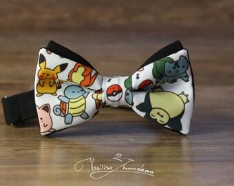 Bow tie - Bowtie Pokemon Bow tie - Bowtie Poke Ball Pokemon GO Pikachu Pokemons