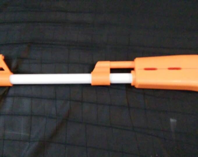 AK-47 or RPK-74 3D printed Nerf elite barrel attachment