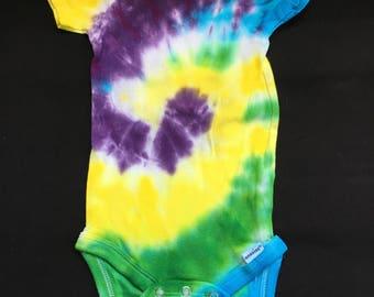 Tie Dye Onesie, 18 Month