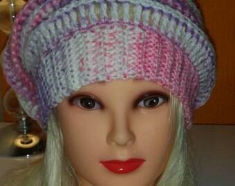 Lovely crochet beanie, slouch hat, crochet winter hat