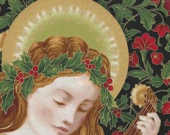 Holiday Flourish 9 - Panel - Robert Kaufman - Peggy Toole - Gorgeous!!  Angel