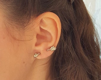 Arrow diamanté vintage earring ON SALE