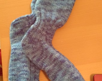 Unisex blue socks